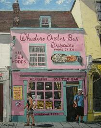 Wheelers Oyster Bar - link to painting